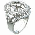 18k GP finger ring