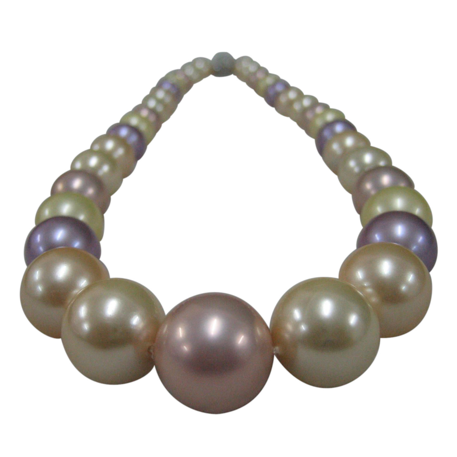 Shell pearl strands