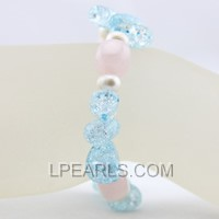 blue crystal jewelry bracelet