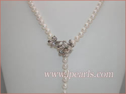 Opera length 5.5-6mm  pearl necklace