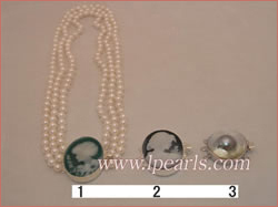 6-6.5mm akoya pearl necklace