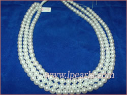 6.5-7mm cultured akoya pearl jewelry strands wholesale