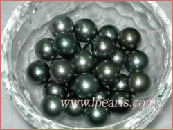 Top quality Tahitian black loose pearls jewelry