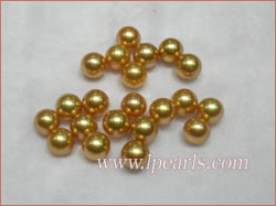 golden color South sea pealrs jewelry wholesale