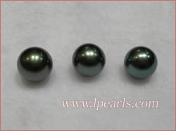 natural black tahitian loose pearls jewelry