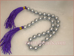 12mm gray seashell jewelry pearl necklaces