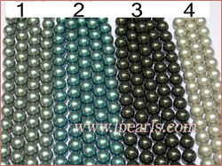 14mm South sea shell jewelry pearl strands