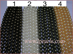 South sea shell jewelry pearl strands,16mm
