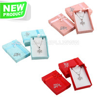 wholesale Beautiful gift boxes for necklace 50pcs