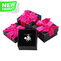 wholesale Black with hot pink gift box for Jewelry holding 48pcs