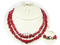 red coral necklace jewelry