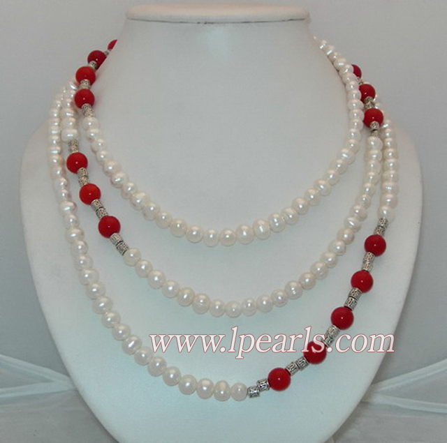 Pearl Necklaces Jewelry