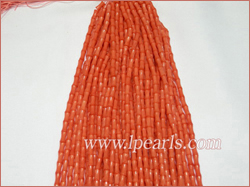 4x8mm pink bamboo coral strands jewelry