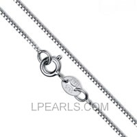 16inch 925 Sterling silver box chain for pendant