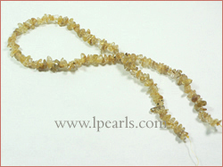 Amorphous golden crystal jewelry strands wholesale__noble