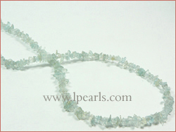 Elegant Aquamarine crystal jewelry strands wholesale