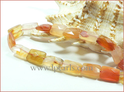10-14mm red agate strands shaped rectangle wholesale