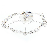 Latest 925 sterling silver bracelet with zircons mounting