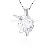 Latest 925 sterling silver Unicorn locket pendant