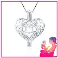 Latest 925 sterling silver Heart locket pendant