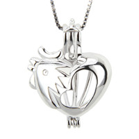 Latest 925 sterling silver Rooster locket pendant