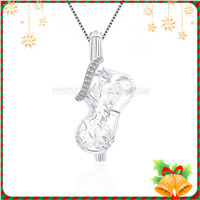 Christmas gift 925 sterling silver Christmas Stocking cage penda