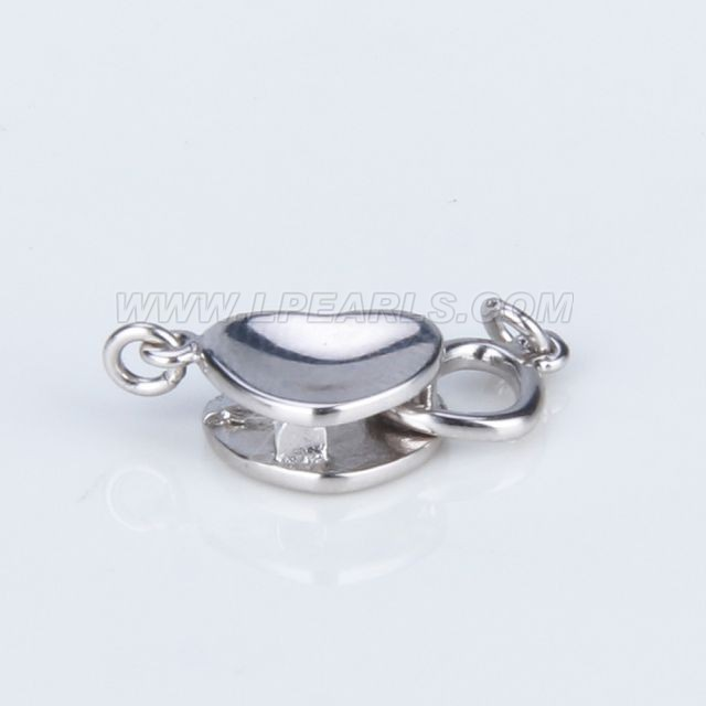 wholesale 925 sterling silver heart shape clasp