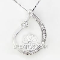 wholesale Water Drop 925 sterling silver pendant accessories
