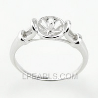 925 sterling silver pearl ring accessory