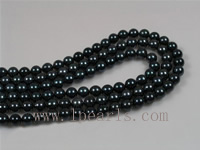 16inch 7-7.5mm AA black akoya pearl strands wholesale