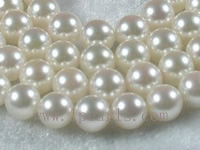 7-7.5mm AAA+ white Akoya pearl strands 16-inch
