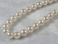 6.5-7mm A+ white Akoya pearl strands 16-inch in length