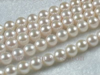 5.5-6mm AAA wthie Akoya pearl strands 16-inch in length