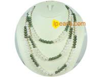 beautiful potato freshwater pearl necklace on wholesale