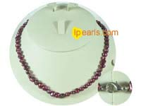 6-7mm modena color nugget freshwater pearl necklace