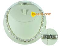 6-7mm natural white rice freshwater pearl necklace