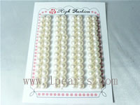 6.5-7mm AAA white bread-shape freshwater loose pearl