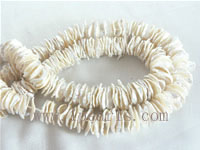 12mm natural white color freshwater Keishi pearl strands