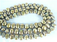 6-7mm smooth on both sides pearl strands on wholesale from China