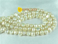 cream-colored 6-7mm smooth on both sides freshwater pearl strand