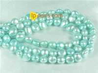 6-7mm smooth on both sides freshwater pearl strand on wholesale