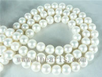 8-9mm natural white freshwater potato pearl strands