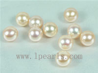 20pcs 8-8.5mm natural pink freshwater round loose pearl beads