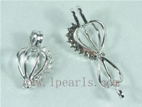 5pcs 18K GP pendant accessories with cute zircon on wholesale