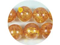 14mm caviar color round amber strand on wholesale