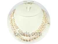 wholesale 7-8mm pink freshwater pearl necklace