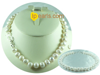 luxury 11-12mm white freshwater potato pearl single necklace