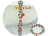 8mm and 12mm gemstone bracelet from China