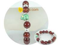 charming 12mm red carnelian bracelet on wholesale