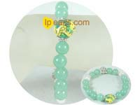 discount sale ingenious 10mm green bowlder bracelet